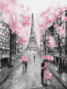 Картина по номерам EX6257 Гламурный Париж