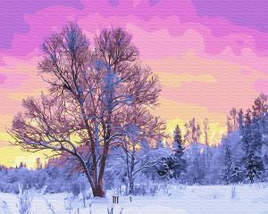 Картина по номерам GX28728 Пурпурное утро