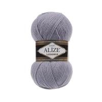 Пряжа Ализе Лана Голд (Пряжа Ализе Лана Голд, цвет 200-Серый)