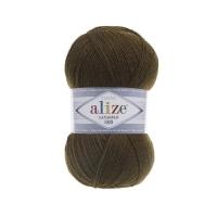 Пряжа Ализе Лана Голд 800 (214 оливковый)