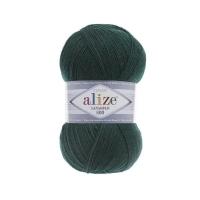 Пряжа Ализе Лана Голд 800 (426 темно-зеленый)