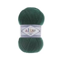Пряжа Ализе Лана Голд 800 (507 античный зеленый)