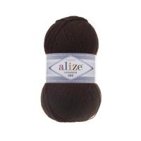 Пряжа Ализе Лана Голд 800 (26 коричневый)
