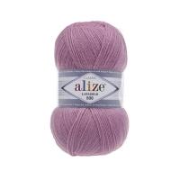 Пряжа Ализе Лана Голд 800 (98 розовый)