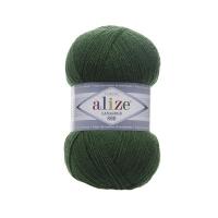 Пряжа Ализе Лана Голд 800 (118 зеленая трава)