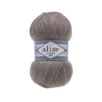 Пряжа Ализе Лана Голд 800 (207 св.коричневый меланж)