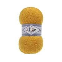 Пряжа Ализе Лана Голд 800 (216 желтый)