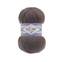Пряжа Ализе Лана Голд 800 (240 св.коричневый меланж)