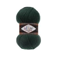 Пряжа Ализе Лана Голд Файн (426 темно-зеленый)