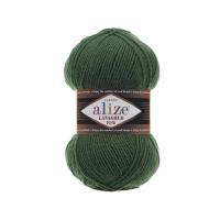 Пряжа Ализе Лана Голд Файн (118 т.зеленый)