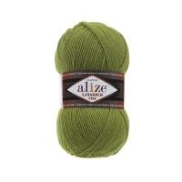 Пряжа Ализе Лана Голд Файн (485 зеленая черепаха)