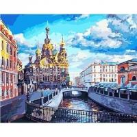 Картина по номерам GX 3264 Любимый Петербург 40*50