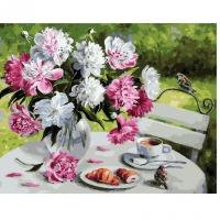 Картина по номерам  GX 29388 Чаепитие в саду 40*50