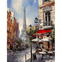 Картина по номерам GX 31903 Парижские переулки 40*50