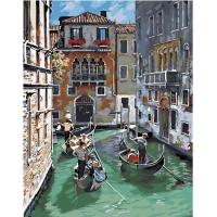Картина по номерам GX 31736 По узким каналам Венеции 40*50