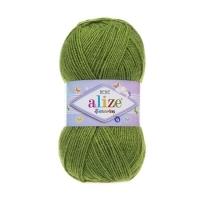Пряжа Ализе Шекерим Беби (210 зеленый)