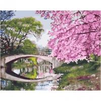 Картина по номерам  PK 45034 Весенний парк 40*50