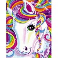 Картина по номерам  PK 55017 Волшебный пони 40*50