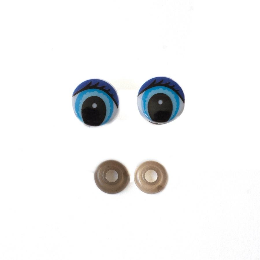 Глазки винтовые 20 мм с фиксатором Е307