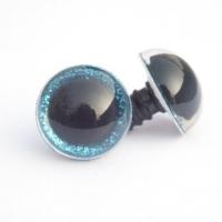 Глазки винтовые 10 мм в ассортименте с искоркой