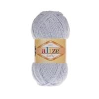 Пряжа Ализе Софти (416 серый)