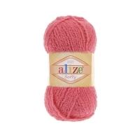 Пряжа Ализе Софти (33 ярко-розовый)