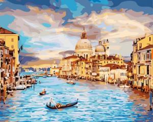 Картина по номерам GX22296 Очарование Венеции