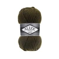 Пряжа Ализе Суперлана Макси (214 оливковый зеленый)