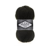 Пряжа Ализе Суперлана Макси (241 темно-зеленый)