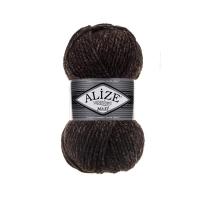 Пряжа Ализе Суперлана Макси (804 коричневый меланж)