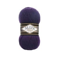 Пряжа Ализе Суперлана Классик (388 пурпурный)