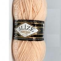 Пряжа Ализе Суперлана Классик (681 светло-персиковый)