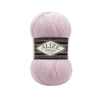 Пряжа Ализе Суперлана Классик (518 розовая пудра)