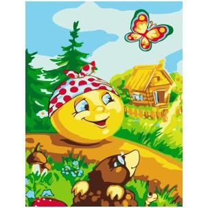 Картина по номерам KD 45002 Сказочной тропинкой 20х30 см детская
