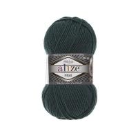 Пряжа Ализе Суперлана Миди (426 темно-зеленый)