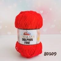 Пряжа Himalaya Dolphin Fine (80509 (18) красный)