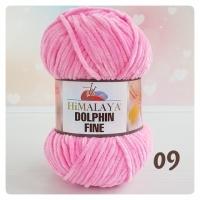 Пряжа Himalaya Dolphin Fine (80507 (09) ярко-розовый)