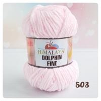 Пряжа Himalaya Dolphin Fine (80503 нежно-розовый)