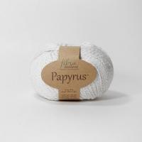 Пряжа Papyrus Fibra natura (229-01 белый)