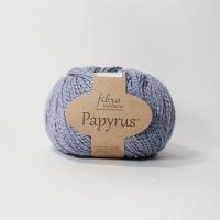 Пряжа Papyrus Fibra natura (229-16 серый)