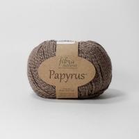 Пряжа Papyrus Fibra natura (229-24 св.коричневый)