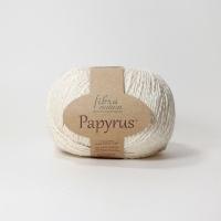 Пряжа Papyrus Fibra natura (229-02 молочный)
