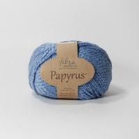Пряжа Papyrus Fibra natura (229-15 голубой)