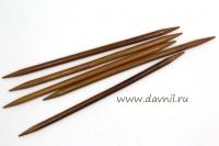 Спицы носочные бамбук 20 см 5 шт 5,5-8мм