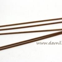 Спицы носочные бамбук 20 см 5 шт 3,5 мм; 4 мм (4 мм)