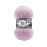 Пряжа Ализе Суперлана Тиг (518 розовая пудра)