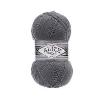 Пряжа Ализе Суперлана Тиг (87 углено-серый)