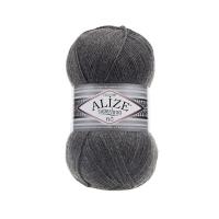 Пряжа Ализе Суперлана Тиг (182 средне-серый меланж)