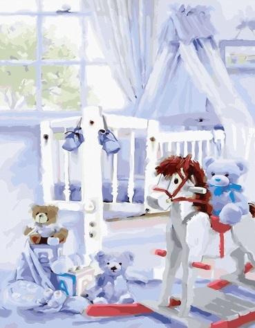 Картина по номерам PK 45048 Детская 40х50 см