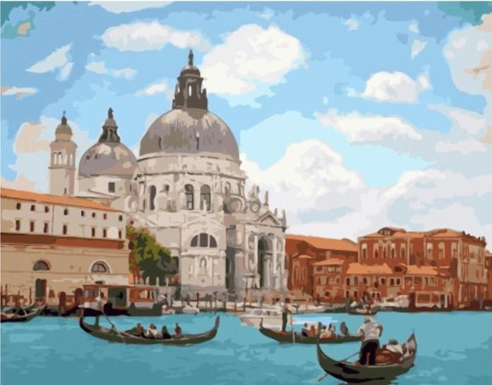 Картина по номерам Paintboy GX 34545 Солнечная Венеция 40х50